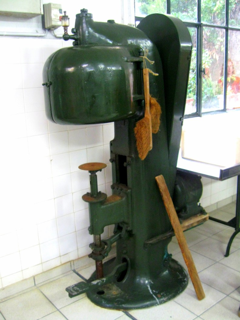 Antique canning equipment also appears to still be in regular use.